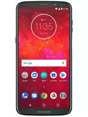 Moto Z3 Play Dual Sim 64GB with 4GB Ram