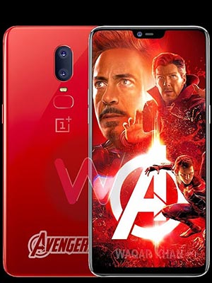 6 Avengers Infinity War Edition 128GB with 8GB Ram