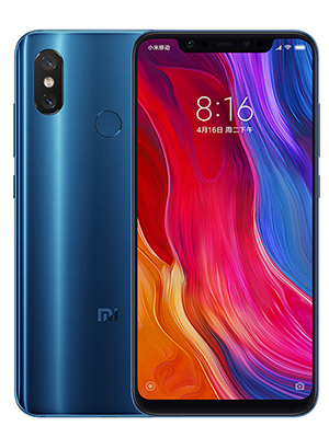 mi 8 Special Edition 128GB with 6GB Ram