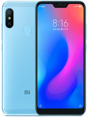 Redmi 6 Pro Bali Blue Edition 64GB with 4GB Ram